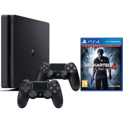 Sony Playstation 4 Ps4 Free Uncharted sony playstation 4 slim 1tb console with uncharted 4 and