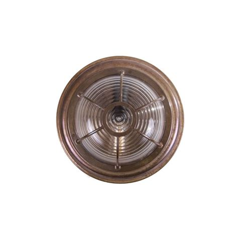 Bathroom Ceiling Light Fittings Industrial Nautical Bronze Bulkhead Light Lighting And Lights Uk