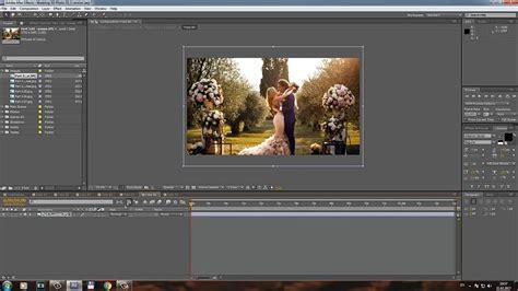 Customization Tutorial Wedding 3d Photo Slideshow After Effects Project Template Youtube 3d Photos Slideshow After Effects Template