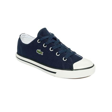 lacoste sneakers lacoste l27 w sneakers in blue navy