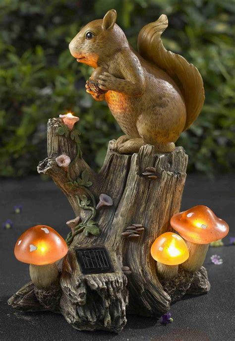 Squirrel Solar Light Garden Decoration Outdoor Lighting Solar Squirrel In