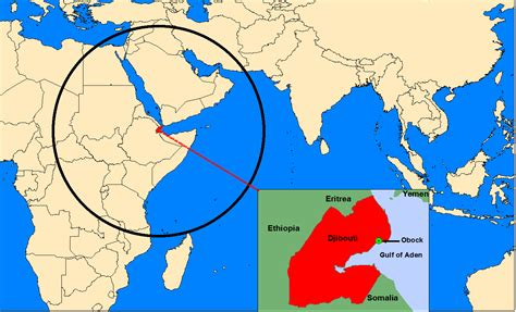 middle east map djibouti djibouti a base for all countries in the world
