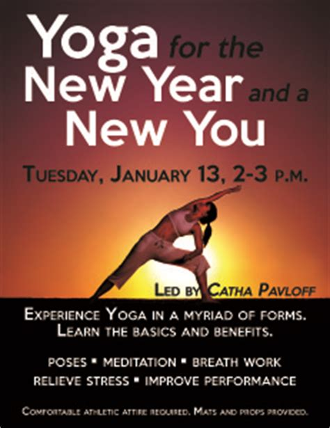 yoga themes new year specialty classes 171 pto fitness center