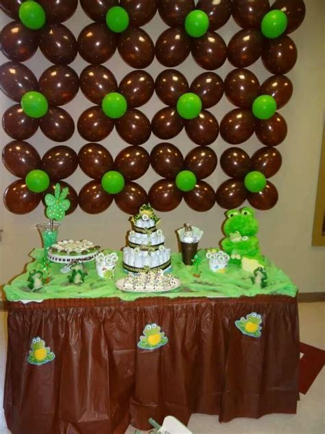 Frog Baby Shower Decorations by 25 Best Ideas About Frog Baby Showers On Frog Birthday The Frog And Frog