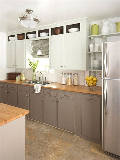 Open Bottom Kitchen Cabinets by Small Kitchens Cabinets And Countertops On