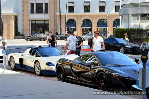 mclaren p1 spotted in beverly california on 06 19 2016