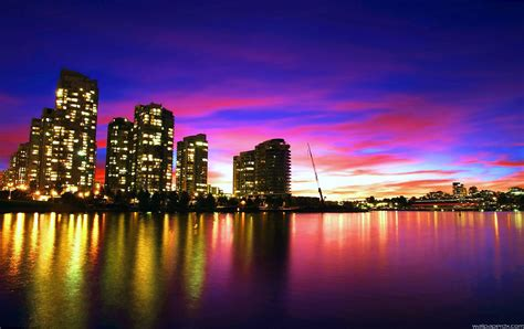 3d wallpaper vancouver vancouver sunset full hd nature wallpaper wallpaperdx