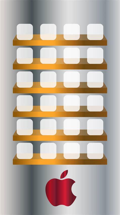 Apple Shelf Wallpaper plus wallpaper apple iphone 6 images shelf