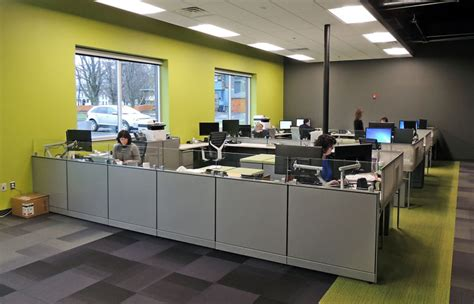generations bank bright colors open spaces lend modern flair to new
