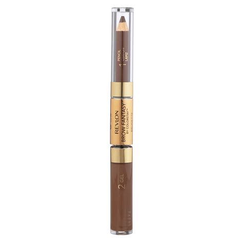 revlon brow fantasy light brown amazon com revlon brow fantasy pencil gel by colorstay