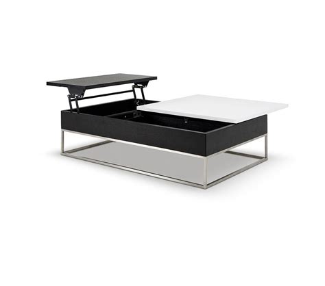 white tray coffee table dreamfurniture p209a modern white coffee table