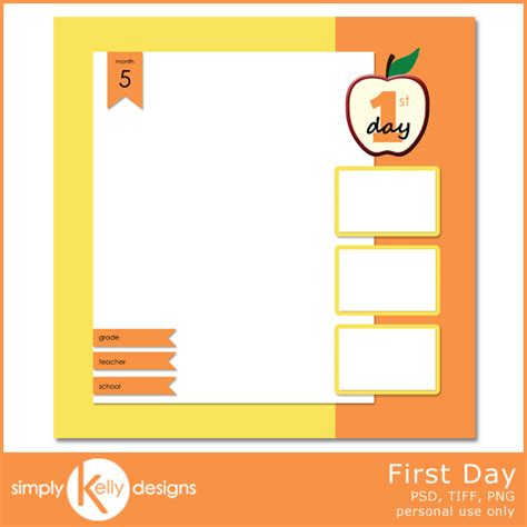 day of school template new release all and day templates 187 simply