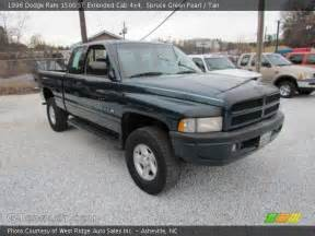 spruce green pearl 1996 dodge ram 1500 st extended cab