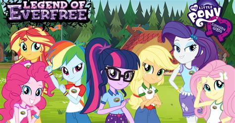 libro little girls can be libro oficial my little pony equestria girls la leyenda del everfree traducido es ponylatino