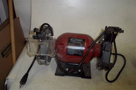 tool shop bench grinder tool shop 6 quot bench grinder advanced sales estate