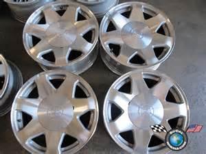 Cadillac Escalade 20 Inch Factory Rims Four 02 06 Cadillac Escalade Esv Ext Factory 17 Quot Wheels