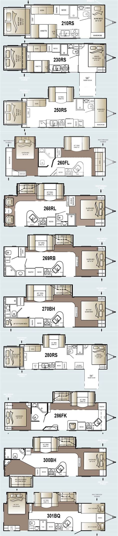 Outback Travel Trailer Floor Plans | keystone outback travel trailer floorplans large picture