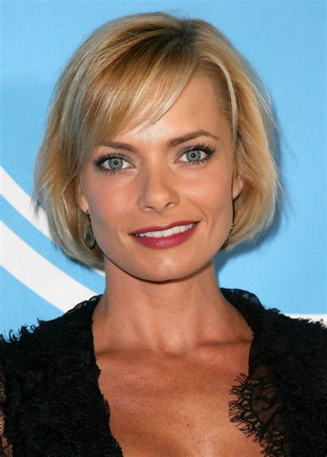 jaime pressly s chic short bob with the sides tucked back 209 best images about bob hairstyles 2015 popular bob