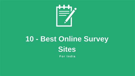 Best Online Survey Sites For Money In India - 10 best survey sites earn kare rs 4000 per month