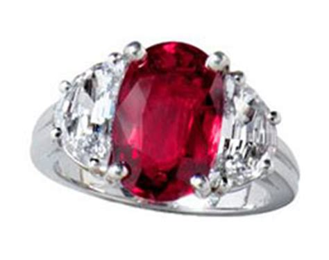 how to clean a ruby set in platinum jewelry care tip