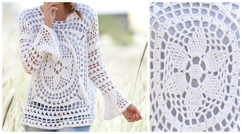 all uncinetto bellissima maglia all uncinetto fai da te ecco lo schema