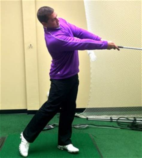 golf swing follow through drill long arms drill for improved distance ball striking