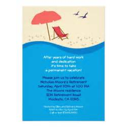 chair retirement invitation 5 quot x 7 quot invitation card zazzle