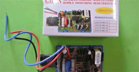 konsep freewheeling diode dan rc snubber elektronika never die smps dengan gacun