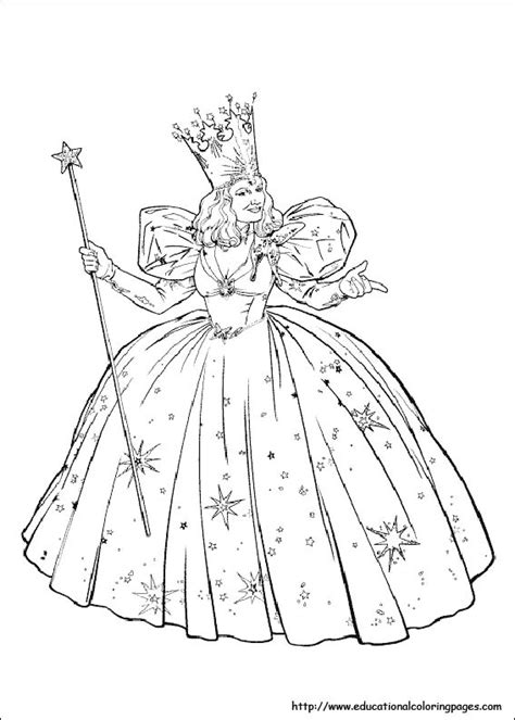 Wizard Of Oz Coloring Pages Free For Kids Wizard Of Oz Printable Coloring Pages