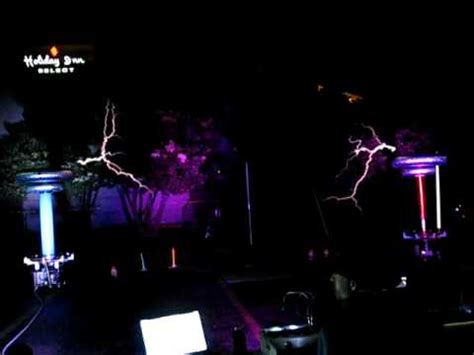 tesla master of lighting masters of lightning play darth vader s theme with musical