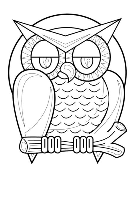 halloween coloring pages owl 61 best images about owl coloring pages on pinterest