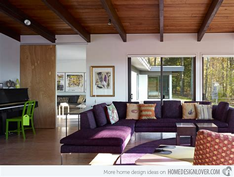 15 catchy living room designs with purple accent home 15 catchy living room designs with purple accent