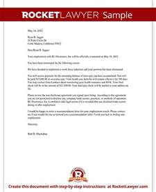 Policy Template Exles by Termination Letter Best Business Template