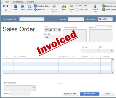 work order template for quickbooks order invoices quickbooks batch invoice sales orders