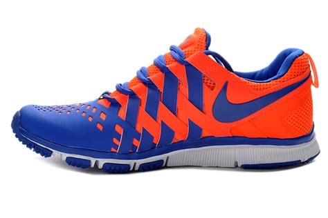 blue and orange running shoes 2014 new nike free running trainer 5 0 barefoot shoes blue