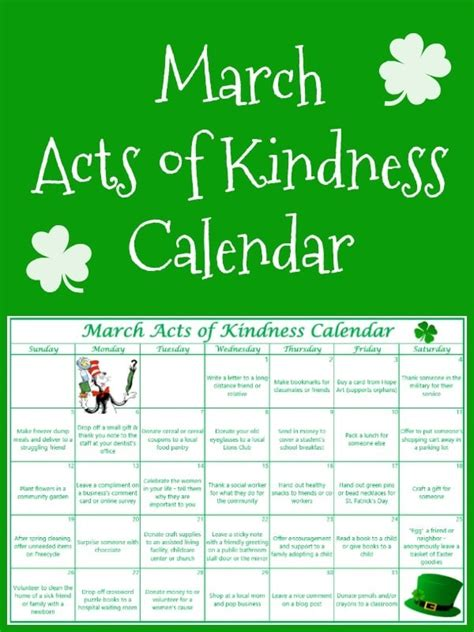 Christmas Holiday Decorating Ideas Home by March Acts Of Kindness Calendar