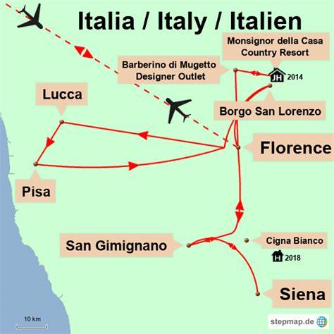 Italien Rundreise Auto 2 Wochen by Italien 2 Wochen Rundreise Durch Die Toskana Lupesi