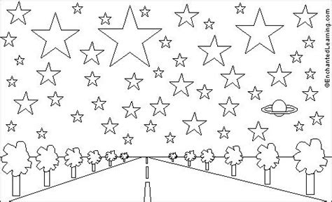 coloring page twinkle twinkle little star best photos of little stars printable free printable