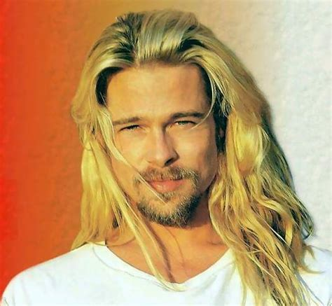 wallpaper brad pitt hair