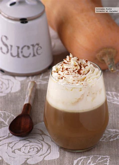 recetas de cafe imprescindibles pumpkin spice latte receta de caf 233 con leche de calabaza