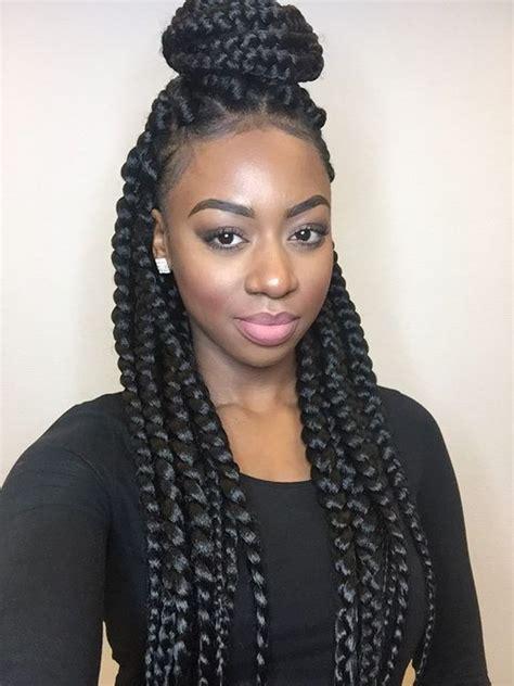 blocked braids styles les 20 meilleures id 233 es de la cat 233 gorie tresses afro sur