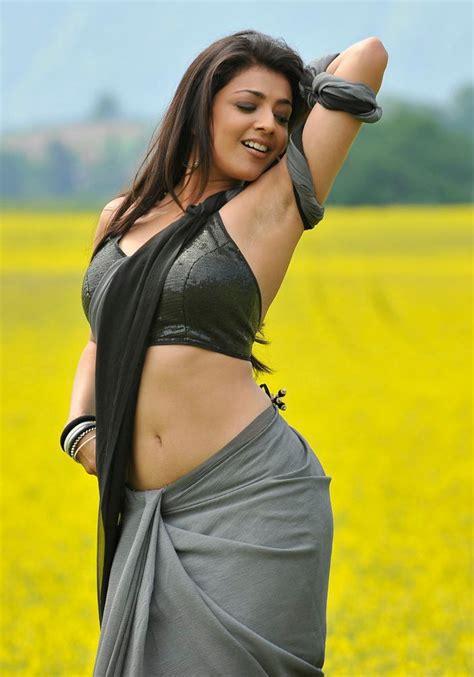 actress kajal agarwal hot actress latest pics actress kajal agarwal in saree pics