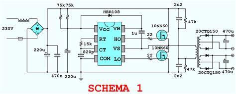 schema alimentatore switching uso ed abuso ir2153 per alimentatori fino a 1 5kw