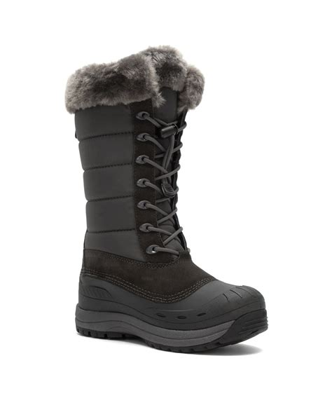 baffin snow boots baffin s iceland snow boots in gray grey lyst