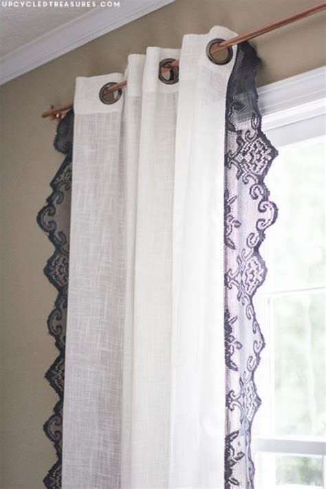 creative drapes diy lace curtains creative runners and look at