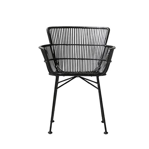 black rattan dining chairs black rattan dining chair house doctor feather marble