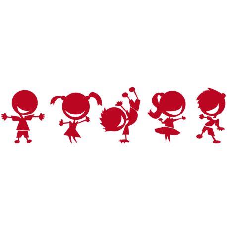 imagenes de niños jugando rugby vinilo decorativo infantil ni 241 os jugando paredes guarder 237 a