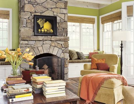 apple green living room bright green and orange farmhouse mojan sami