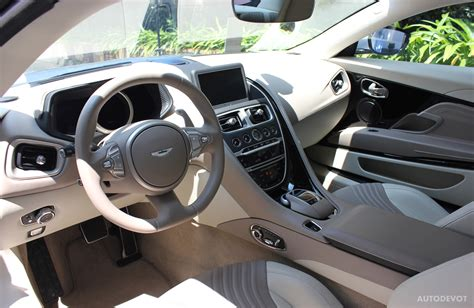 aston martin db11 interior previewed aston martin db11 autodevot