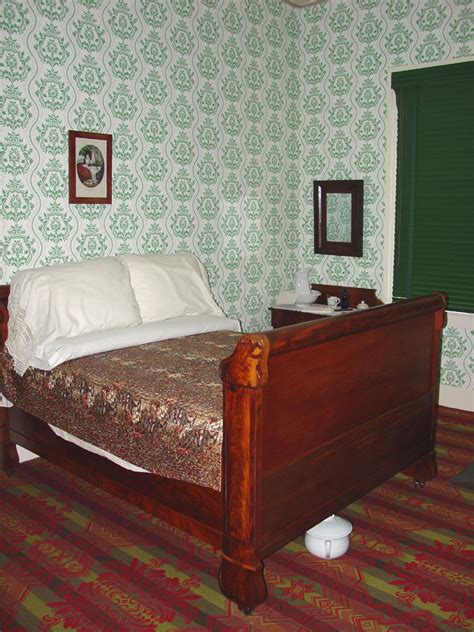Stand At Desk Interior Of Lincoln S Home In Springfield Illinois